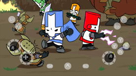TouchFox Controller for Castle Crashers