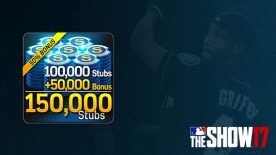MLB® The Show™ 17 Stubs (150,000)