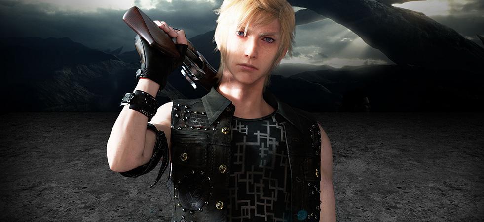 Final Fantasy Character - Prompto Argentum