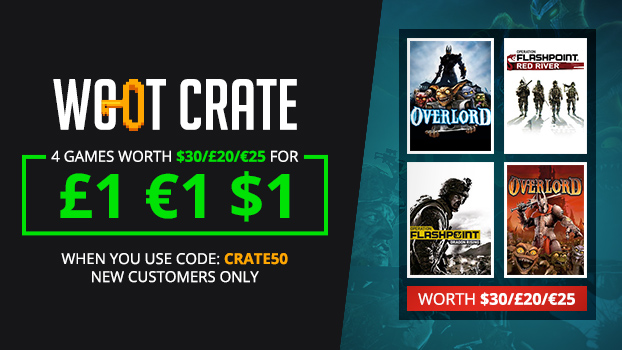 Codemasters Woot Crate