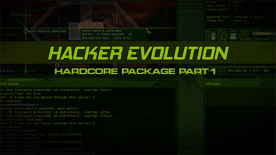 Hacker Evolution: Hardcore Package Part 1
