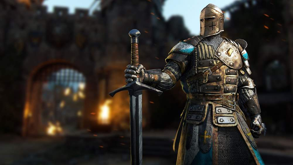 For Honor - The Warden holding a greatsword in one hand