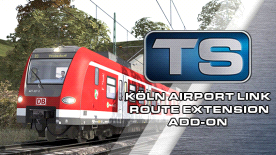 Train Simulator: Koln Airport Link Route Extension Add-On