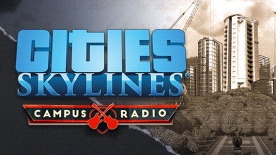 Cities: Skylines - Campus Rock Radio