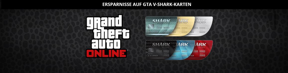 GTA V-Sharkkarten im Angebot bei GMG