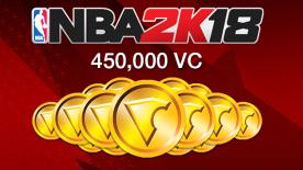 NBA 2K18: 450000 VC