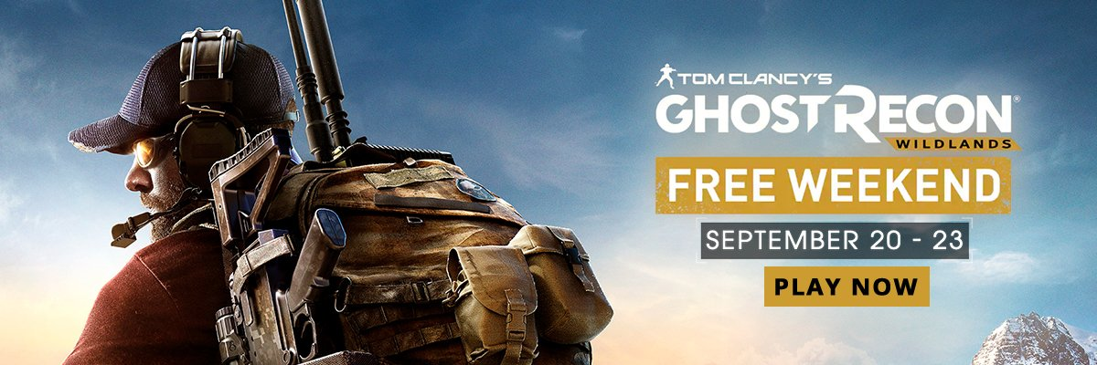 Free Weekend Ghost Recon