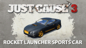 Just Cause™ 3: Rocket Launcher Sports Car