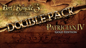 Port Royale 3 Gold & Patrician IV Gold - Double Pack