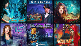 Hidden Object 6-in-1 bundle