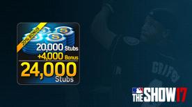 MLB® The Show™ 17 Stubs (24,000)
