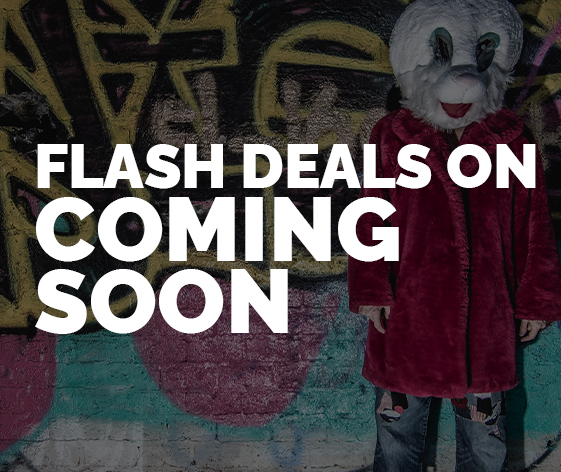 Flash Deals on Coming Soon
