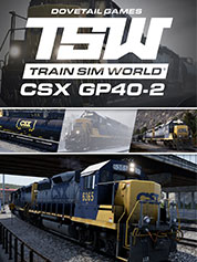 http://www.greenmangaming.com - Train Sim World®: CSX GP40-2 Loco Add-On 19.99 USD