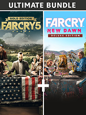 Far Cry 5 Gold Edition + Far Cry New Dawn Deluxe Edition Bundle (PS4)