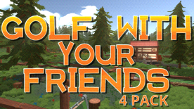Golf With Your Friends - 4 Pack