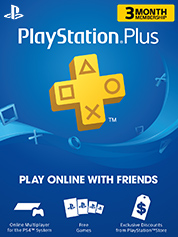PlayStation Plus: 3 Month Membership P4B8EA6E84F2