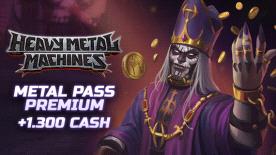 HMM Metal Pass Premium Season 3 + 1300 Cash