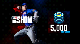 MLB THE SHOW 20: STUBS (5000)