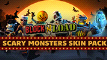 Block N Load: Scary Monsters Skin Pack