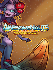 Awesomenauts - Coco Hawaii Skin
